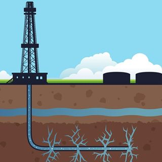 Debate sobre el fracking.
