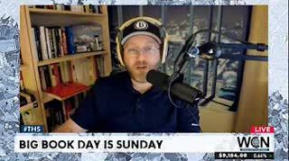 Sunday is Big Book Day and other news stories - #Bitcoin $9161 #THS