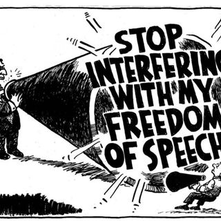 Freedom of Speech? That's a laugh! Funny news and more