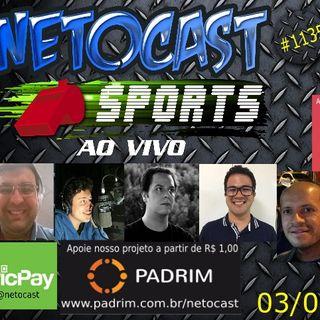 NETOCAST 1135 DE 03/04/2019 - ESPORTES - NBA - F1 - FUTEBOL - UFC - BELLATOR