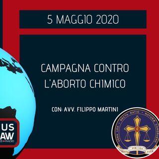 BREAKING NEWS – CAMPAGNA CONTRO L'ABORTO CHIMICO – AVV. FILIPPO MARTINI