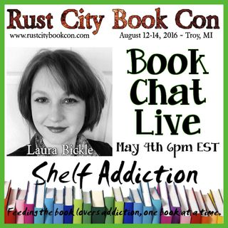 Ep 3: Author Interview with Laura Bickle | Book Chat LIVE