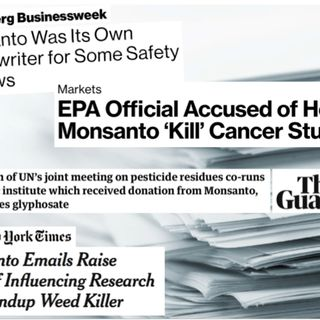 Secret Documents Expose Monsanto's War on Cancer Scientists +