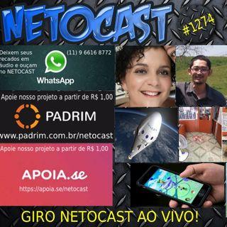 NETOCAST 1274 DE 26/03/2020 - GIRO NETOCAST AO VIVO!