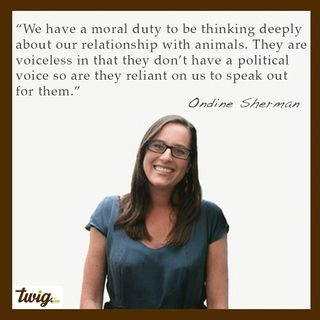 Ondine Sherman - The Power of Education To Ensure a Better Future For The Voiceless.
