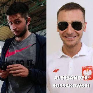 6. Aleksander Kossakowski - niewidzący biegacz, który został Mistrzem Europy