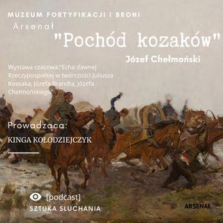 """""""Pochód kozaków"""" - Józef Chełmoński"""