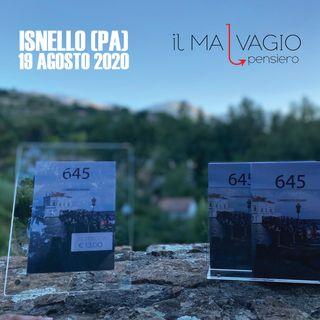 Presentazione del libro 645 a Isnello (Pa)