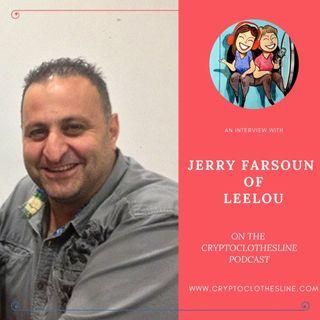 Jerry Farsoun of Leelou on Crypto Clothesline