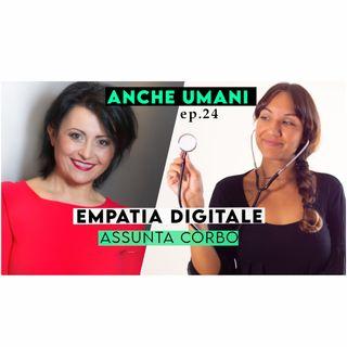 ep. 24 Relazione di cura online: è possibile un'EMPATIA DIGITALE? con Assunta Corbo
