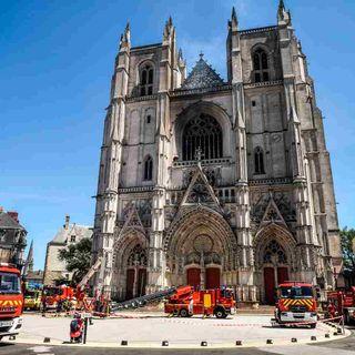 Rogo cattedrale di Nantes: ha confessato l'autore. E' un volontario 39enne