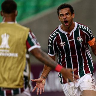 Gol de Fluminense: Fred 1-1