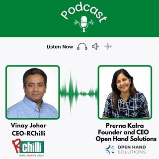 Vinay Johar, CEO of RChilli, and Prerna Kalra, CEO of Open Hand Solutions, talks on recruitment and skills for a successful recruiter.