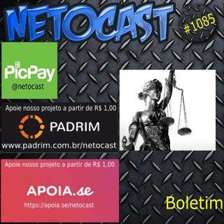 NETOCAST 1085 DE 12/11/2018 - BOLETIM DE DIREITO