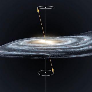 La Via Lattea è una trottola cosmica?