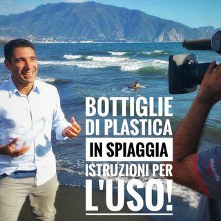 Bottiglie di Plastica in Spiaggia: Istruzioni per l'uso!