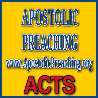 Apostolic Preaching Evangelism