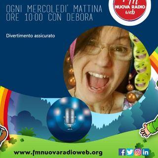 W FM Nuova Radio web, tutta musica italiana, condotto da DEBORA, 14/04/2021