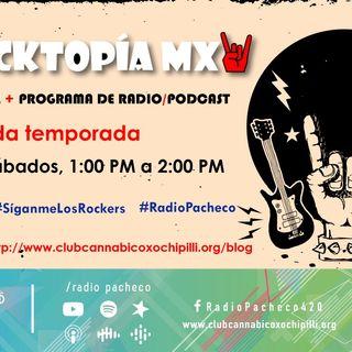 ROCKTOPÍA MX - Entrevista: #Oxomaxoma #AlAire 🎧🎙🎚 Con: Ricardo Cesar + Creepy in Wonderland