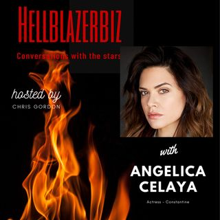 NBC Constantine's Angelica Celaya talks to me about playing Zed & more