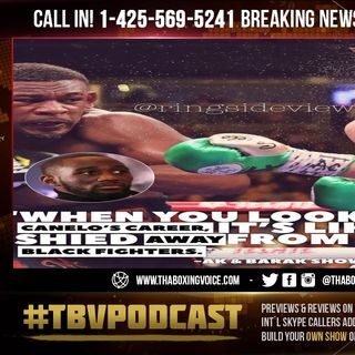 ☎️Terence Crawford: Canelo's Avoided Charlo and Andrade😱Black Fighters Give Him Most PROBLEMS❗️