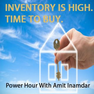 Inventory is High, It's time to buy.