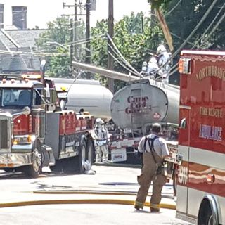 Tanker Truck Slams Into Parked Cars In Northbridge