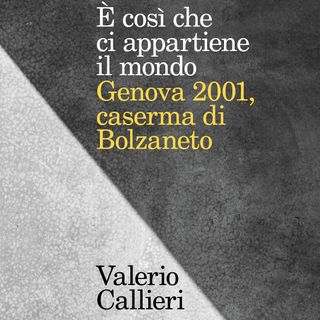 """Valerio Callieri """"E' così che ci appartiene il mondo"""""""