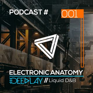 Liquid Drum & Bass DJ Mix with Deeplay | Electronic Anatomy Podcast 001