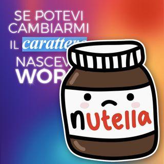 Ep 38 - Che mondo sarebbe con una Nutella più piccola? 🥄