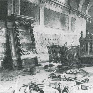 21 settembre 1941.  Una squadra fascista devasta la Sinagoga di Ferrara