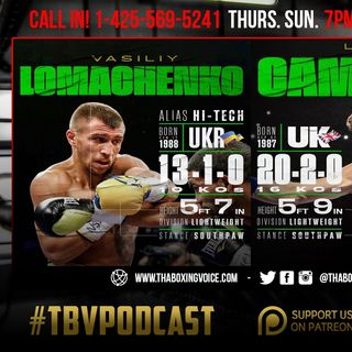 ☎️Vasiliy Lomachenko vs. Luke Campbell Preview👀Pacquiao vs Garcia❓Spence Porter NO HYPE