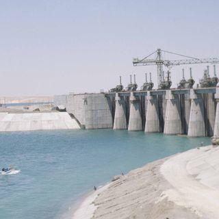 Grundsteinlegung für den ersten Euphrat-Staudamm in der Türkei