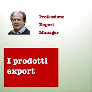 I prodotti export