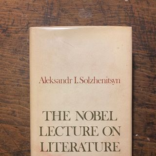 "Solzhenitsyn ""The Nobel Lecture on Literature"" Part II"