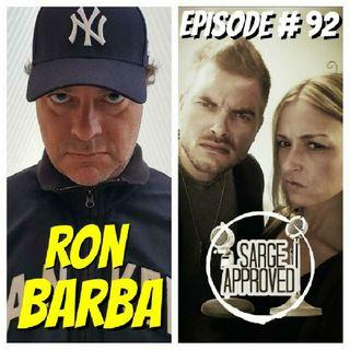 Episode #92 Ron Barba