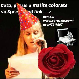 BUON PRIMO COMPLEANNO, Gatti, poesie e matite colorate!!