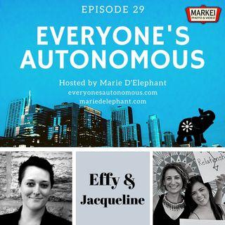 Episode 29: Effy Blue & Jacqueline Misla, Curious Fox Podcast