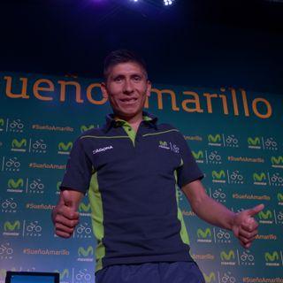 Rueda de prensa Nairo Quintana #SueñoAmarilloDF