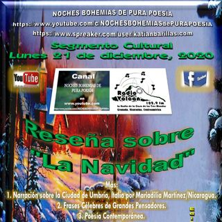 Radio Volcán - Segmento NBPP del lunes 21, martes 22 y miércoles 23 de diciembre, 2020