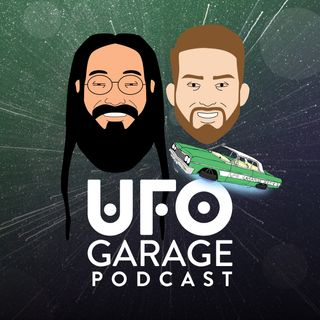 UFO Garage Episode 4 - Listener stories, Bob Lazar and the FBI might have shut down our studio