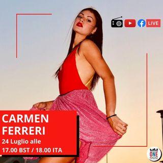 Carmen Ferreri: Galileo, un omaggio alla mia cara terra, la Sicilia