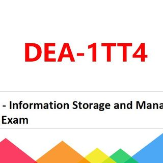 2021 Free & Latest DELL DEA-1TT4 Questions and Answers