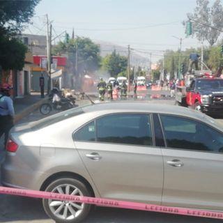 Desalojan a 500 personas por fuga de gas