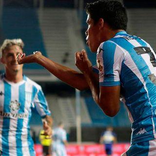 Gol de Racing: Lorenzo Melgarejo 1-0
