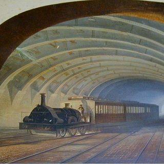 Un caffé con lo storico - Il treno di Londra