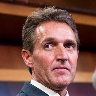 Flake Continues Trump Attacks