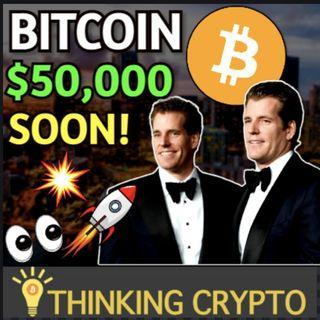 Bitcoin Pump - Grayscale $3.3B Record Inflow - Winklevoss Gemini IPO - Miami Mayor Crypto