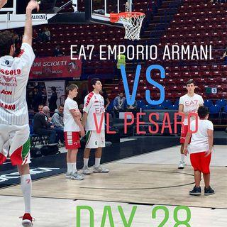 EA7 Emporio Armani vs VL Pesaro