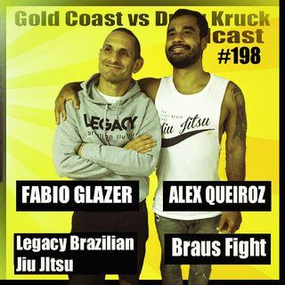 Fabio Glazer and Alex Queiroz – Legacy Brazilian Jiu Jitsu – Braus Fight – BJJ – Brazil – Self Defence – Gold Coast – #198 - Gold Coast vs D